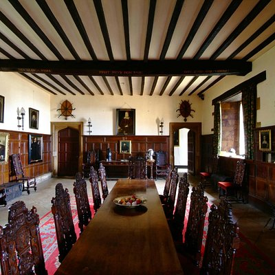 Rockingham Castle - Great Hall
