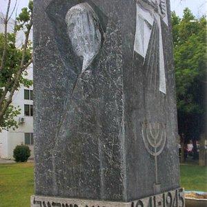 Holocaust Memorial in Volos