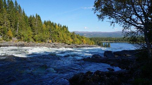 Tännforsen, närliggande vattenfall