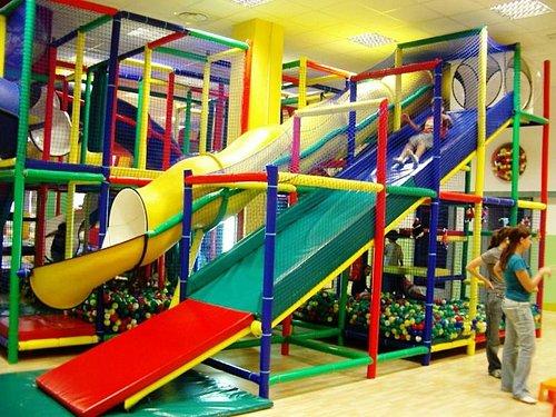 struttura modulare di gioco per bambini