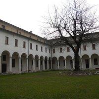 Il chiostro di San Giuseppe, sede del museo