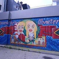 Hänneschen Theater Graffiti Köln