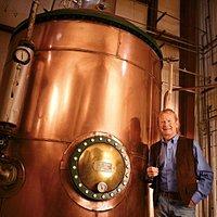 Forty Creek Distillery's large Copper Pot Still