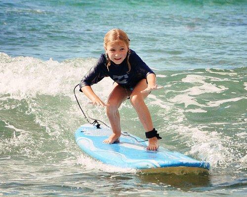 Kids love to surf