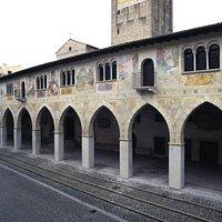 Affreschi del bellissimo Duomo di Conegliano
