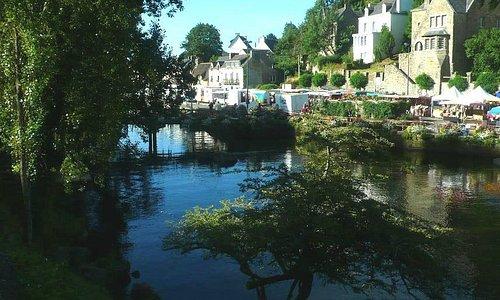 Centre Historique de Pont-Aven: Francia: altro scorcio sul fiume