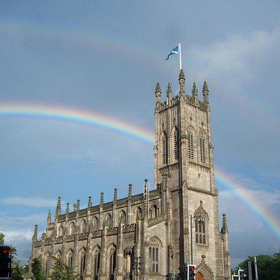 St John's after the rain