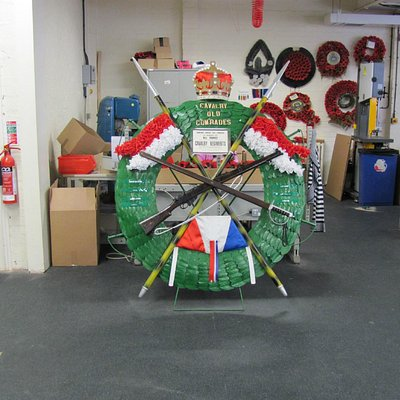 Wreath for a unit