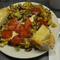 Breakfast, Redwood Diner, E. Syracuse, NY