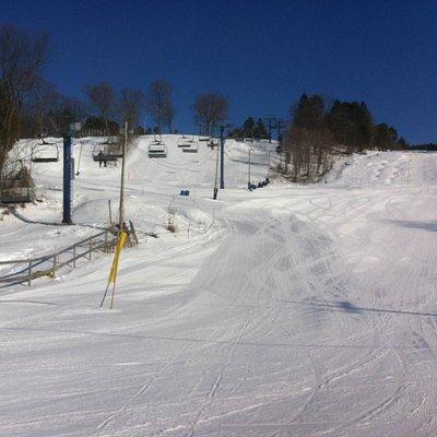 Beautiful day at Laurentian Ski Hill