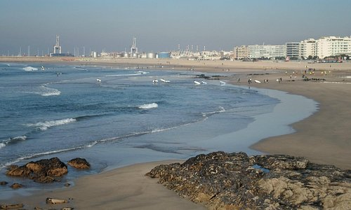 Panoramica della Praia di Matosinhos
