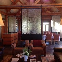 Rustica Steakhouse at Eagle Ranch - Glass and Iron Installation