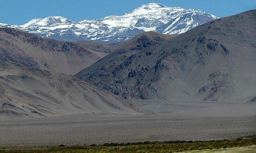 Volcán Walter Penck, 6.658 metros