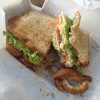 Club Sandwich on wheat