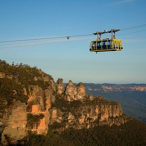 The magical Blue Mountains and the Scenic Skyway