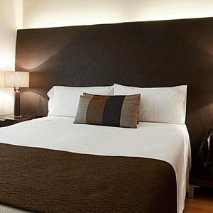 habitación doble uso individual en Aparthotel Senator Barcelona