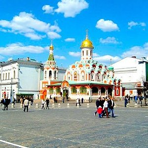 Cathedral of Kazan Mother of God on Red Square