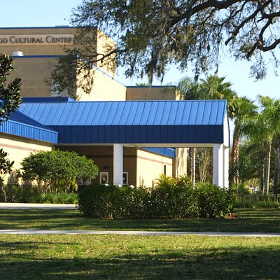 Largo Cultural Center is located in Largo Central Park