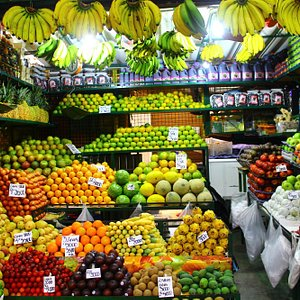 exotic fruits everywhere!