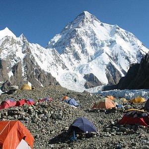 k2 base camp trekking karakoram pakistan.
