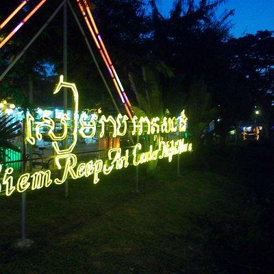 Art centre night market
