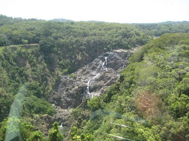 view going to Kuranda
