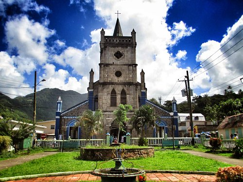 gorgeous town square