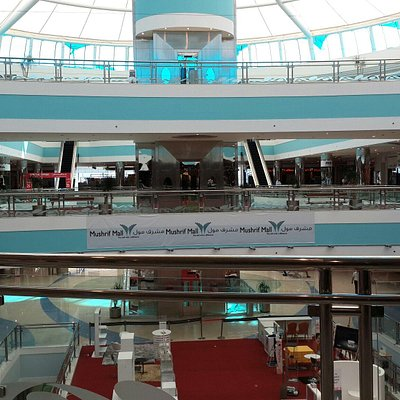 Inside of mushrif mall