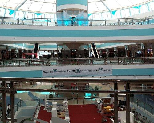 Inside of mushrif mall
