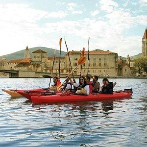 Trogir sea kayak tour