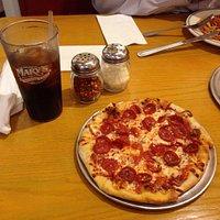 My 'Bambino' Pepperoni Pizza from Mary's Pizza Shack - Fairfield, CA