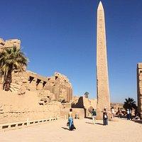In Karnak