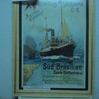 Cartaz Imigração Sul do Brasil