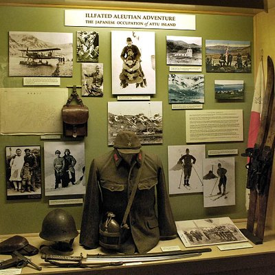 Aleutian Campaign Attu Invasion Exhibit
