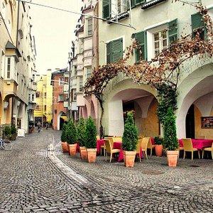 Bressanone, i Portici Maggiori