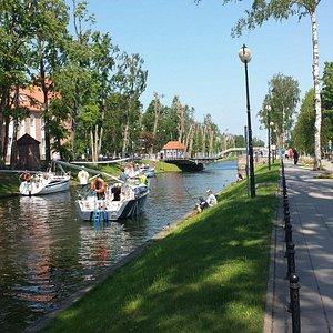 Otwarty most na Kanale Łuczańskim