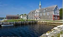 Dock St. Shelburne,  Nova Scotia