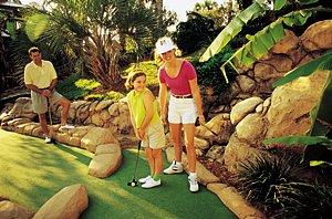 Water themed mini golf fun!