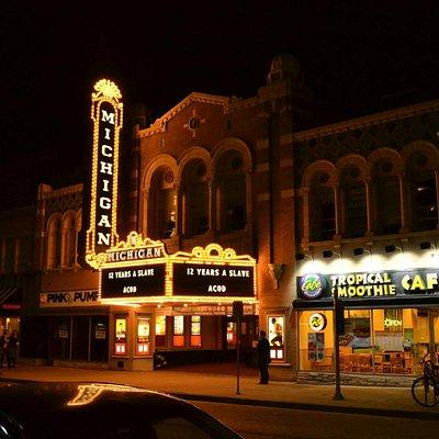 Michigan Theatre Outside