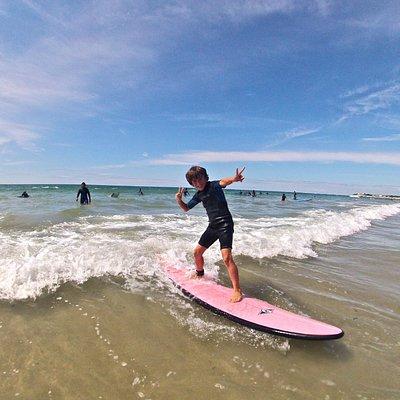 Du joli surf en toute sécurité