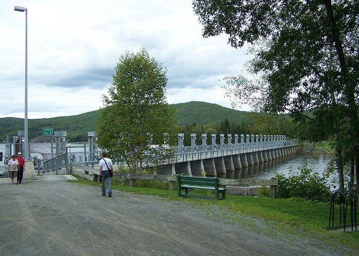 Passerelle Hydro-Québec, Barrage du lac Témiscouata