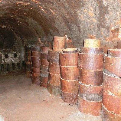 Inside the dragon kiln