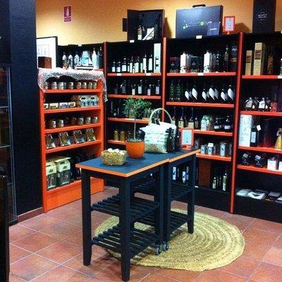 Oleoteca y tienda Gourmet