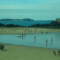 Plage du Sillon: Saint-Malo: Francia: panoramica spiaggia