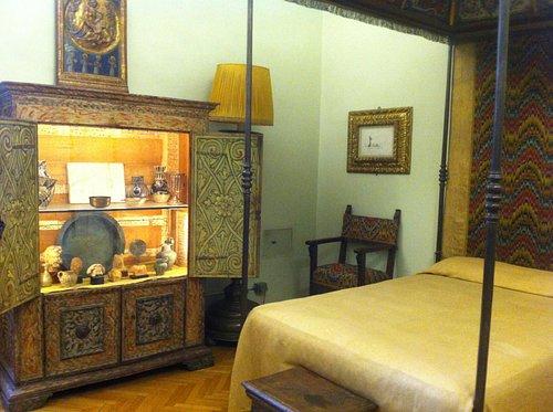 Casa Siviero a Firenze, camera da letto