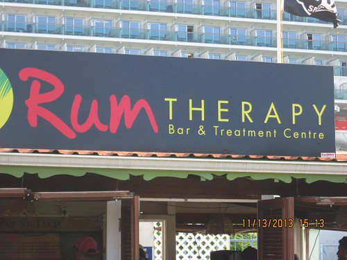Rum Therapy's Signage