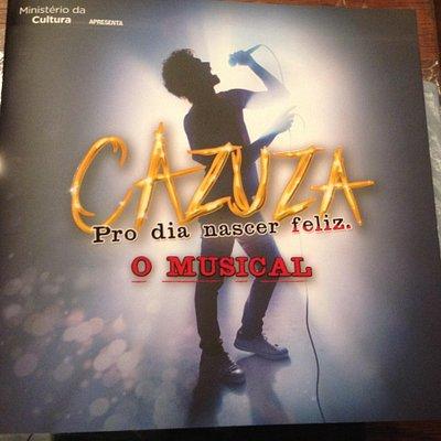 """""""Cazuza, o Musical"""" - último de 2013!"""
