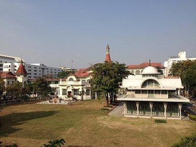 Palace and pavillion
