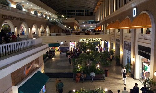 The mall from inside