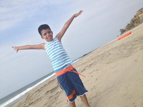 En Playa Vichayito